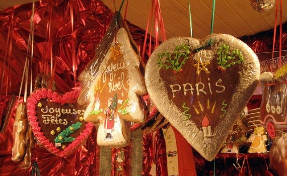 Paris Christmas Markets Marche Noel France