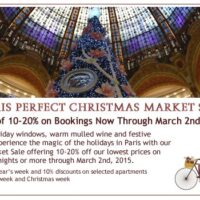 Paris Perfect Christmas Market Sale