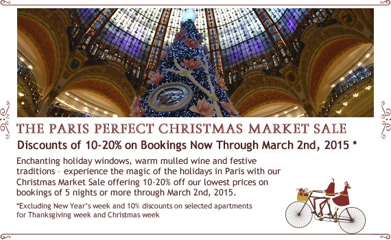 Paris Perfect Christmas Market Sale – Book Now for a Magical Winter Stay!