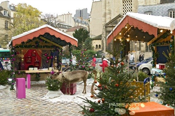 Saint Germain des Pres Christmas Market Paris