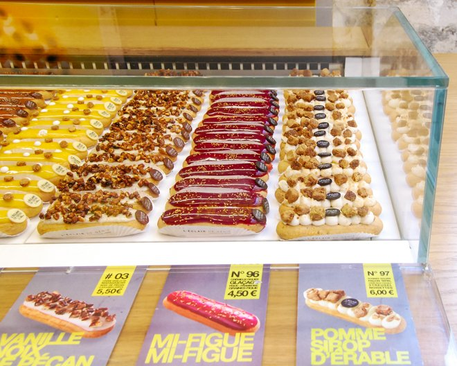 Where to Find the Most Unique Éclairs in Paris!