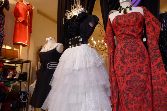 more vintage ball gowns in pairs