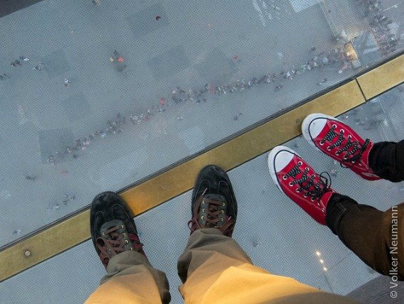 Eiffel Tower New Glass Floor