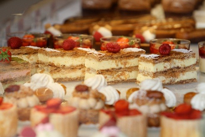 French Pastries in Paris
