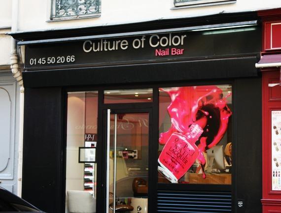 French Manicure Paris Culture of Color france
