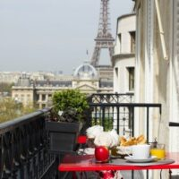 Paris 2 Bedroom Apartment for Sale with Eiffel Tower View