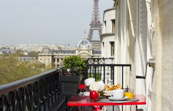 Paris 2 Bedroom Apartment For With Eiffel Tower View