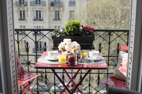 Paris Two Bedroom Apartment for Sale with Balcony