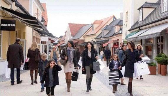 Find bargains year round at La Vallée Village outlet mall near Paris