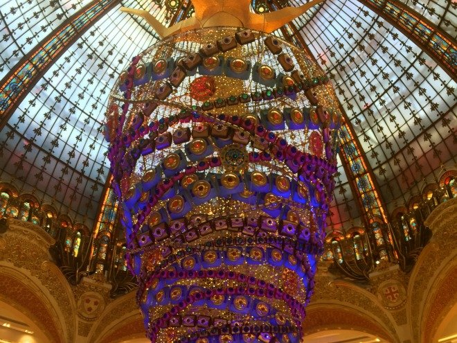 Galeries Lafayette Monster Christmas Tree Paris