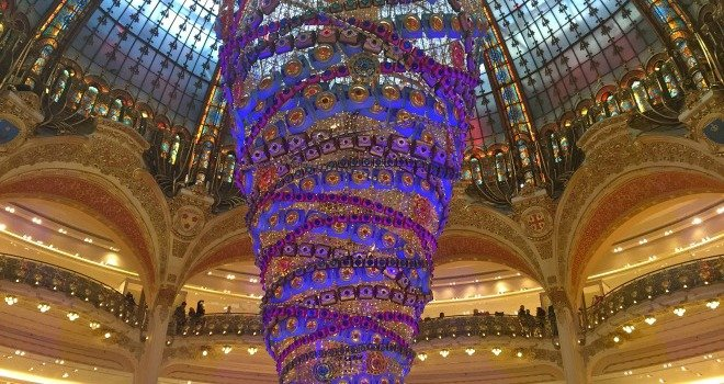 Galeries Lafayette Monster Christmas Tree