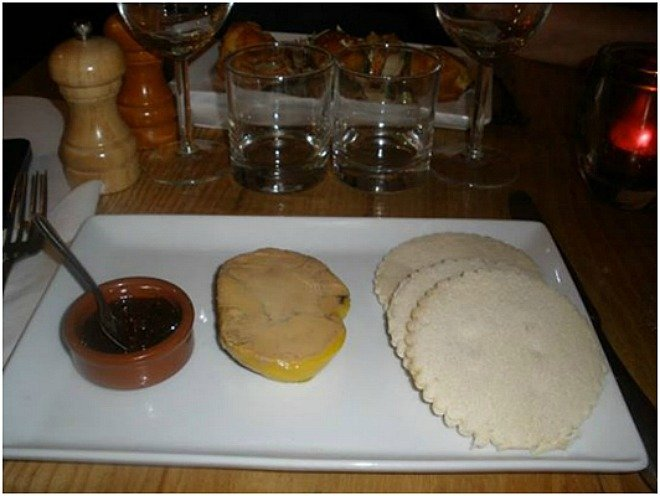 foie gras brioche christmas meal french food paris