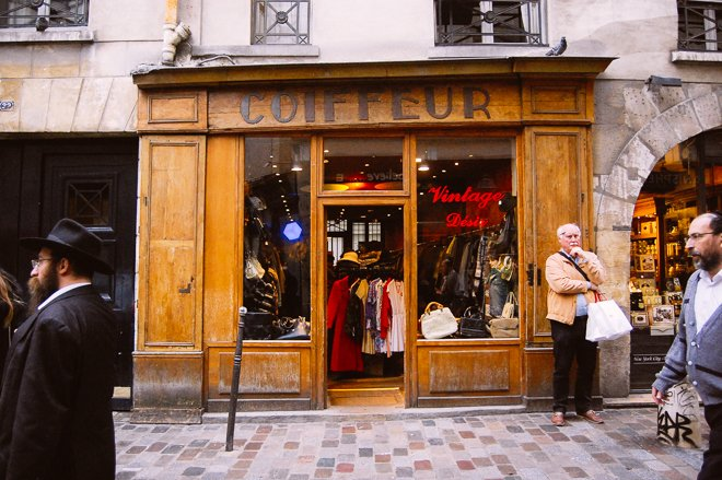 Vintage Desir budget shopping Paris