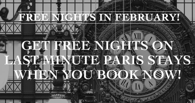 Fabulous Paris Perfect Sales for February Bookings!