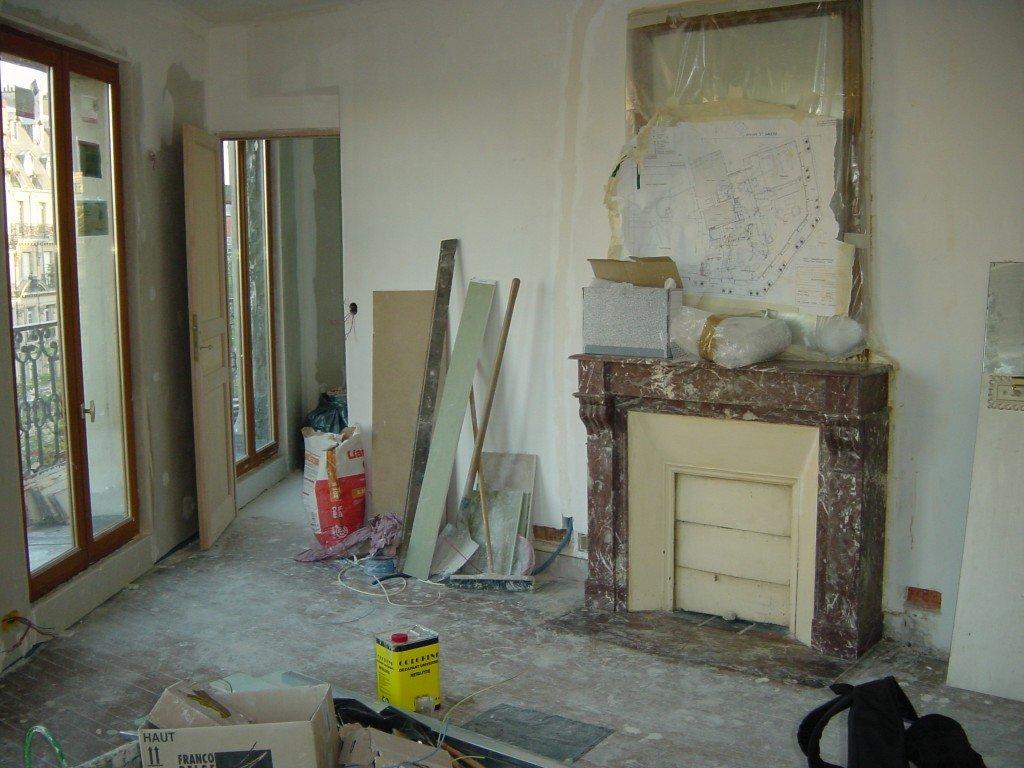 1 Appartement travaux 1