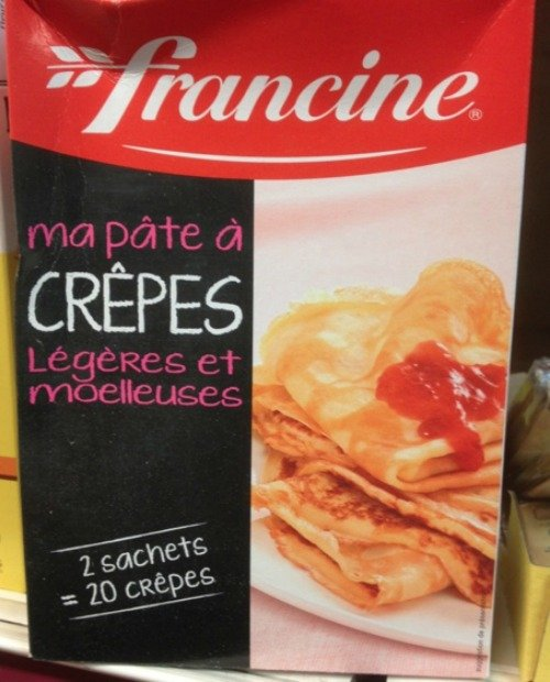 Crepes Paris Valentines Make your own