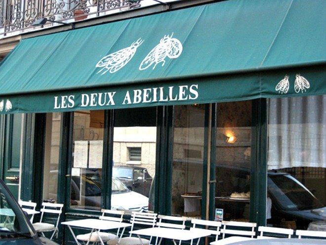 Les Deux Abeilles Valentines day Paris
