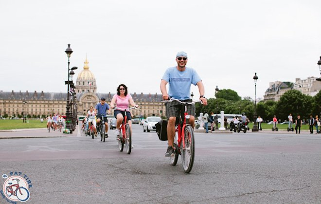 Fat Tire Bike Tours Paris
