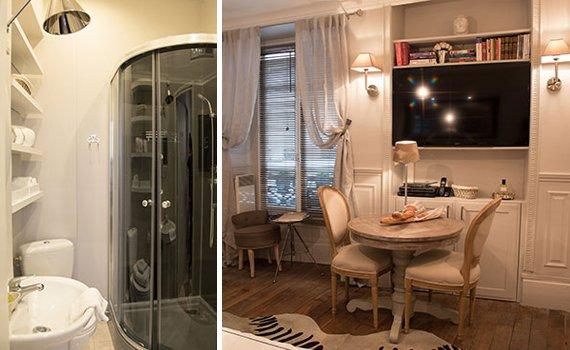 Studio Apartment for Holiday Rental in Paris