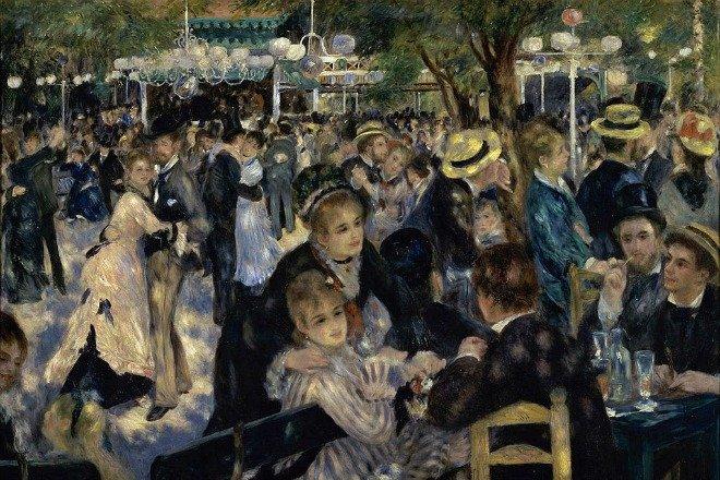 Renoir Moulin de la Galette 1876