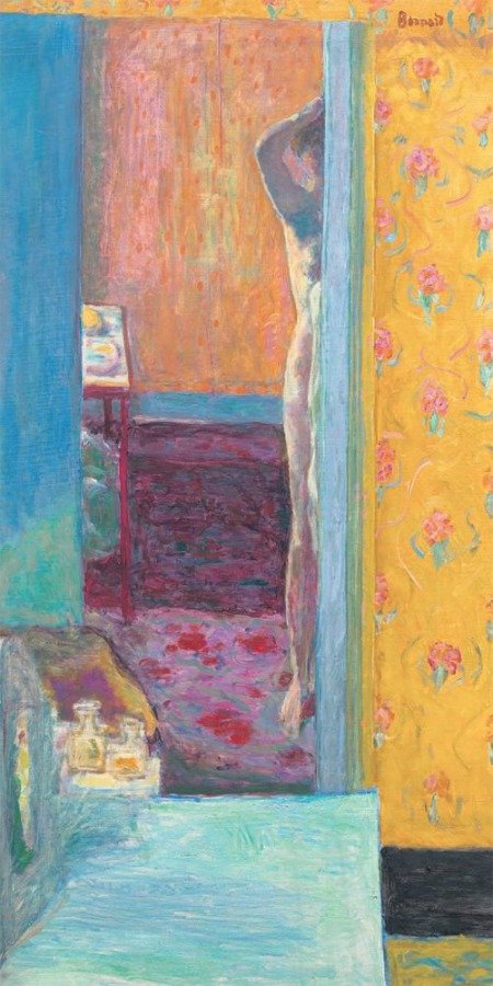 Pierre Bonnard, Nu dans un intérieur, © ADAGP, Paris 2015 /Courtesy National Gallery of Art, Washington