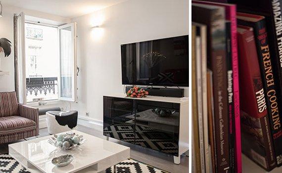 Paris Two Bedroom Saint Germain Vacation Apartment Rental