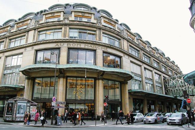 Grand Epicerie the Bon Marche Paris