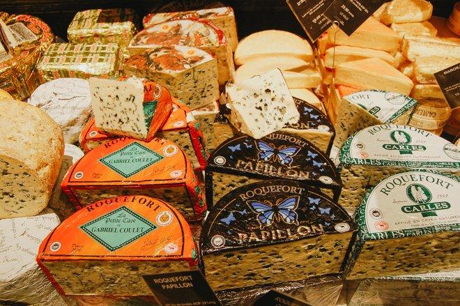 Grand Epicerie Cheese the Bon Marche Paris
