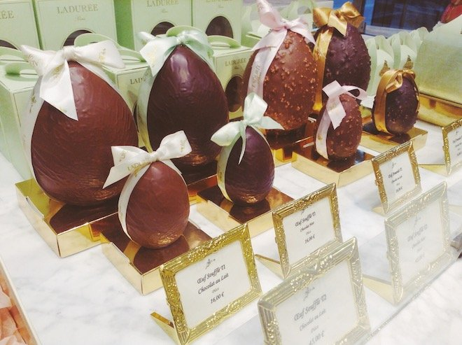 Easter Chocolates in Paris
