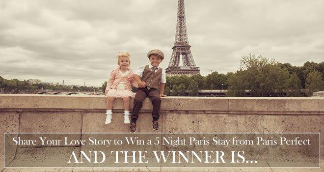 Paris Perfect Love Story