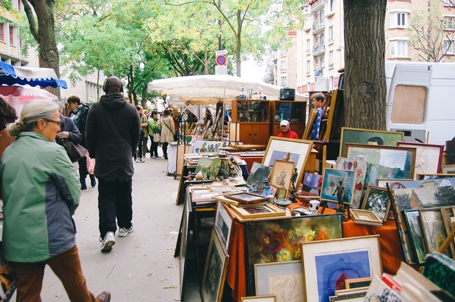 Treasures and Trinkets at the Vanves Flea Market in Paris
