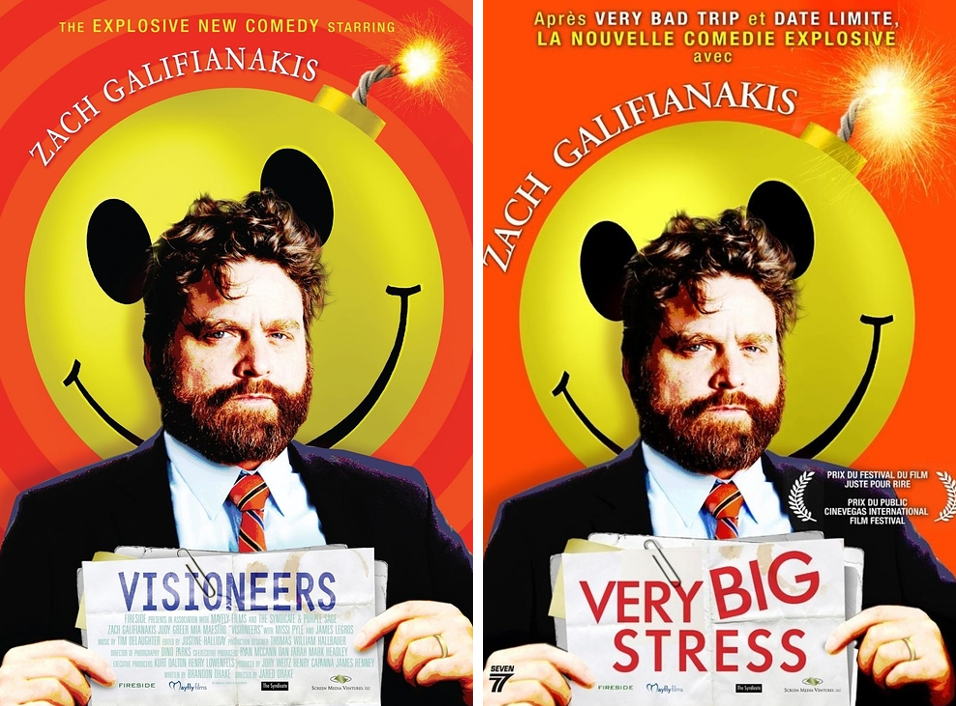 I'm amazed they didn't simplify Zach Galifinakis' name as well