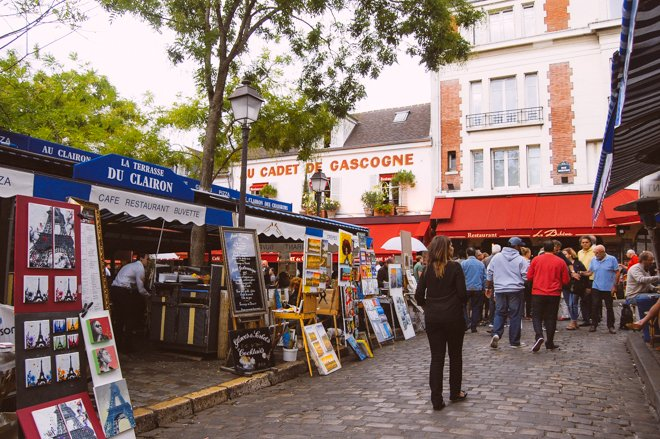 A Fun Guide to Montmartre: Unique Shopping & Dining