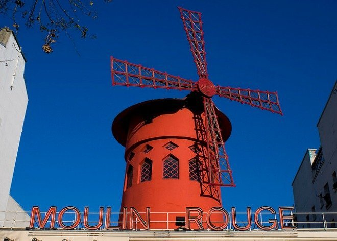 Moulin Rouge Windmills Paris