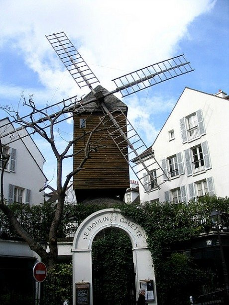 Le Moulin de la Galette windmill paris
