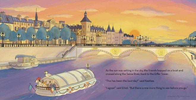 Kee Kees big adventures in Paris Childrens book