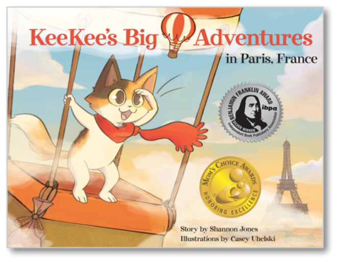 Kee Kees big adventures in Paris Childrens book