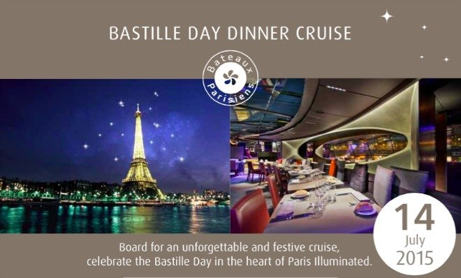 Hurry – Book Your Seats Now for a Bastille Day Dinner Cruise!