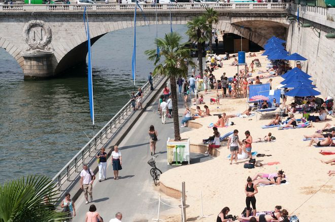 Hit the Beach for Summertime Fun in Paris!