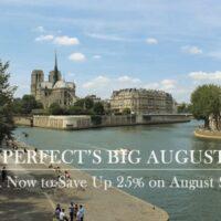 Paris vacation rental sale august