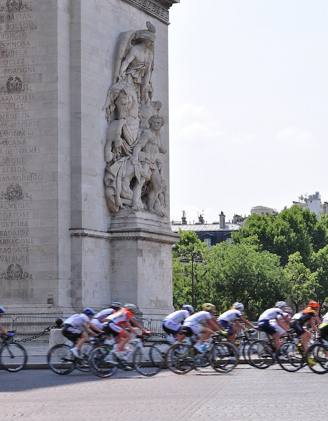 Grand Finish of the Tour de France in Paris