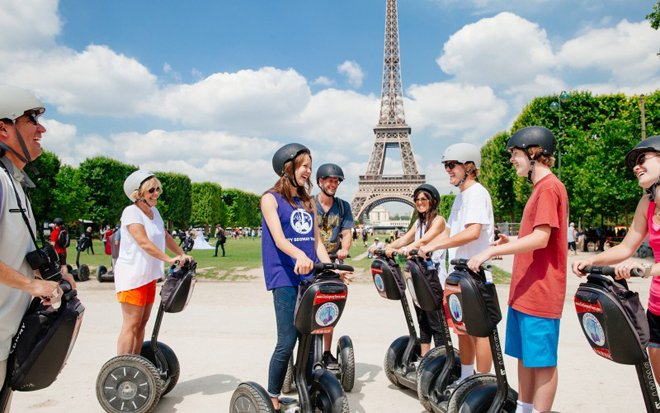 Kid-friendly Segway Tour in Paris. Image provided by City Segway Tours.