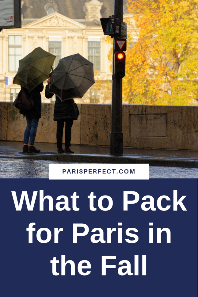 Packing for Paris in the Fall by Paris Perfect