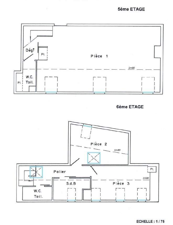 Paris Apartment for Sale Floor Plan
