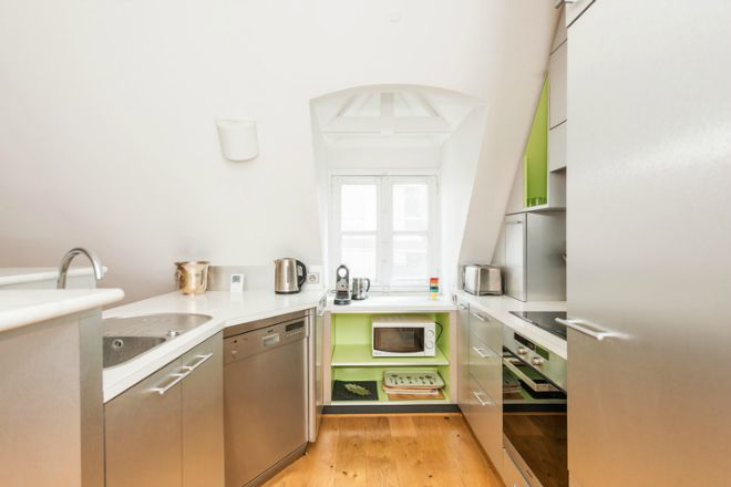 Paris Apartment for Sale Marais Kitchen