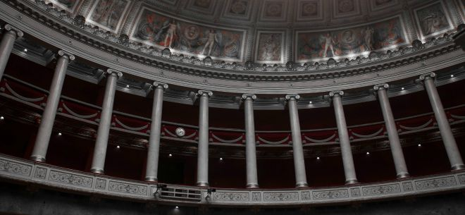 Inside the Palais Bourbon. Image by Gavial bzh.