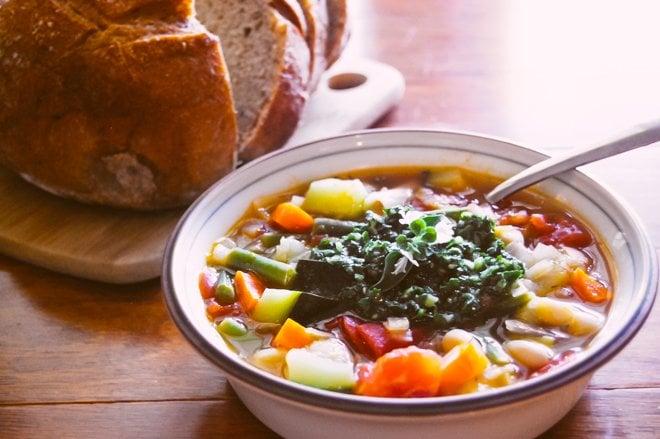 Warm Up With a Bowl of Provençal Soupe au Pistou! - Paris Perfect