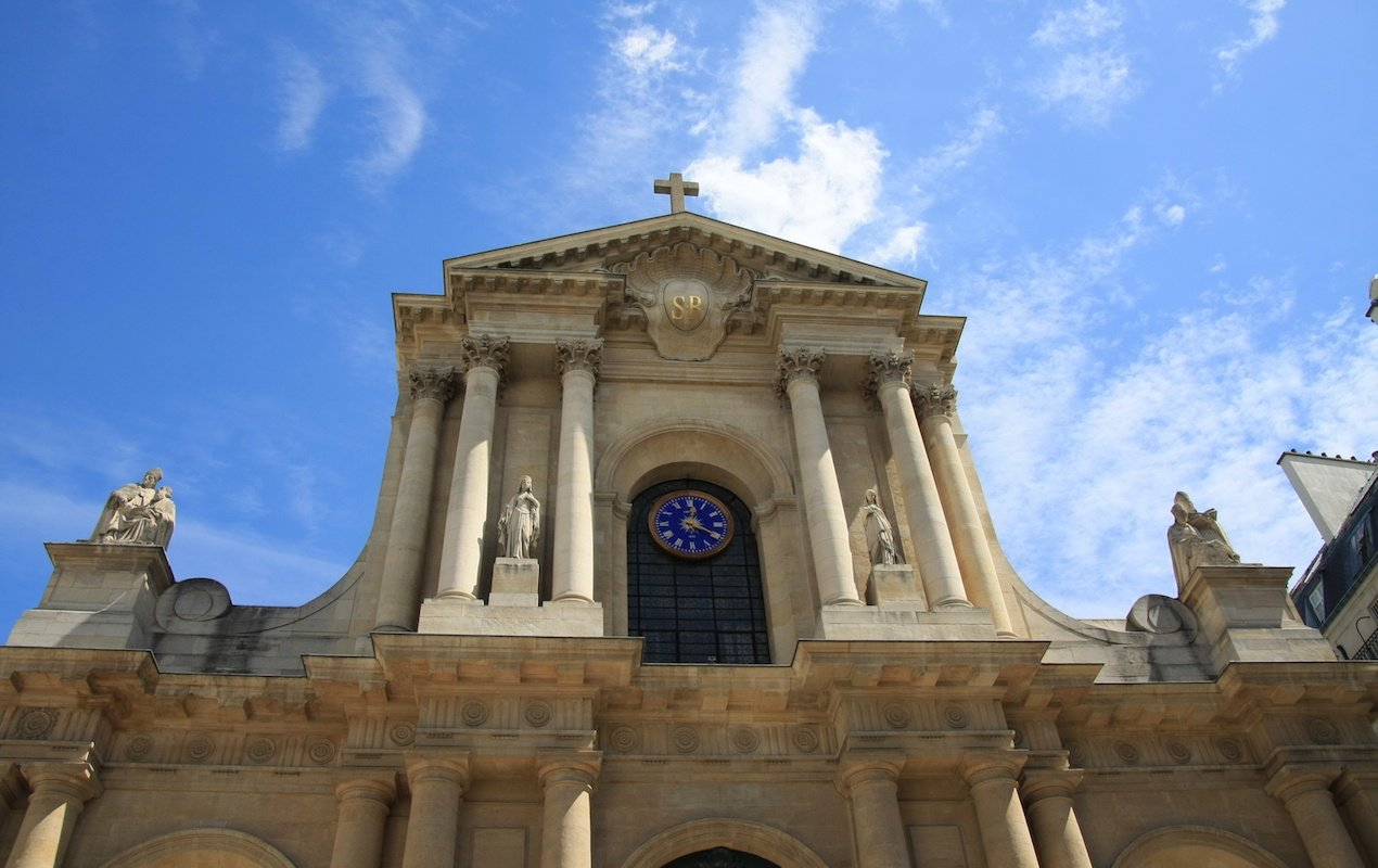 Saint Roch Cathedral in Paris