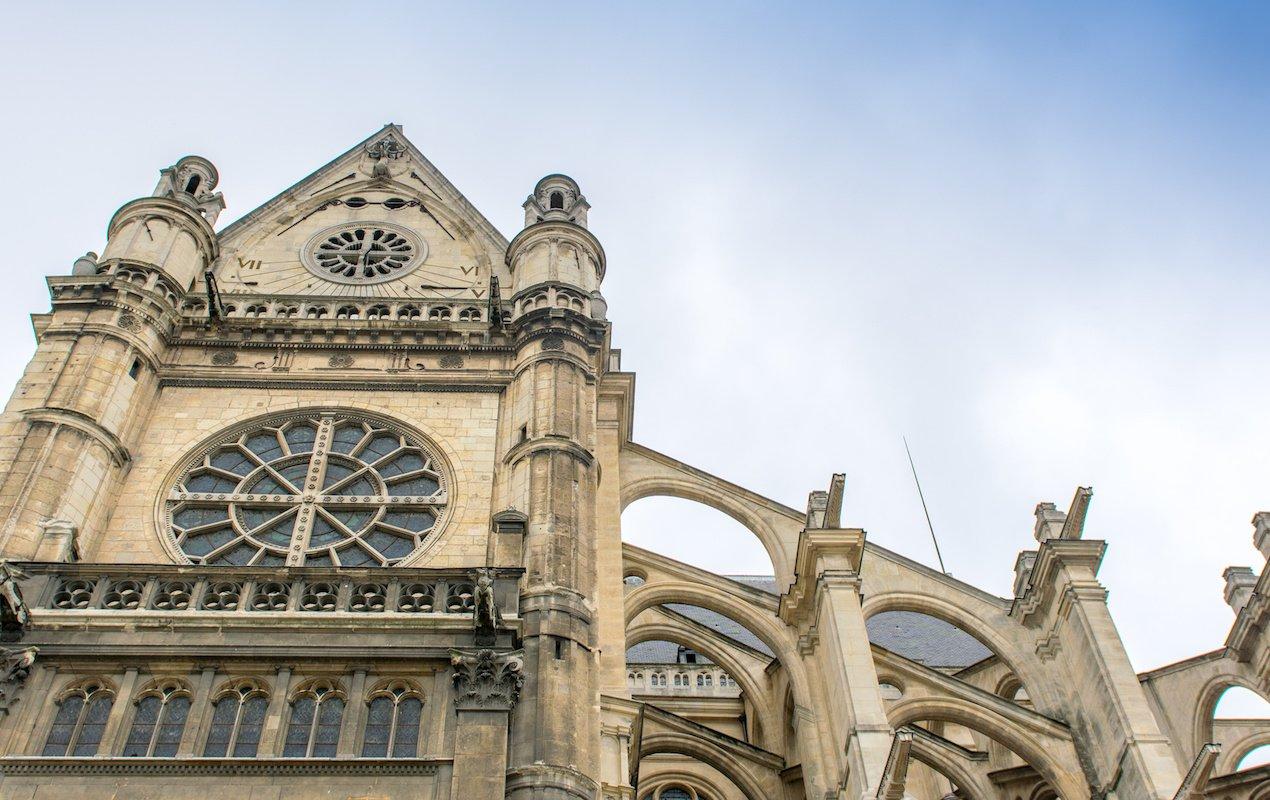 7 Amazing Churches in Paris - Church of Saint Eustache