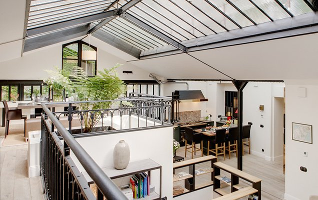 Modern Light Filled 4 Bedroom Loft In The 5th Arrondist Charlemagne By Paris Perfect